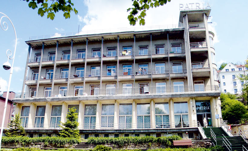 Patria - budynek Jana Kiepury