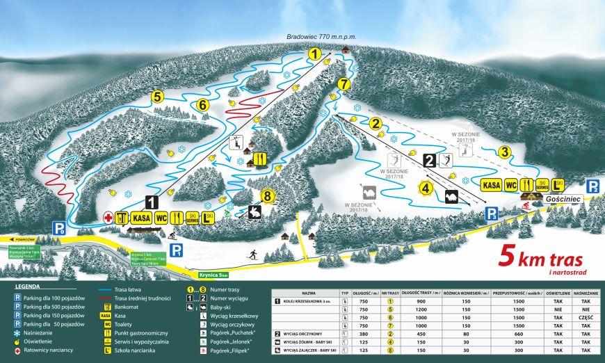 Tylicz-Ski-mapa-tras-narciarskich