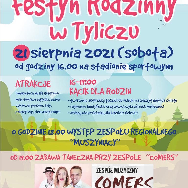 Festyn w Tyliczu plakat