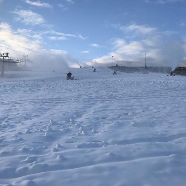 Tylicz Master Ski - śnieżenie