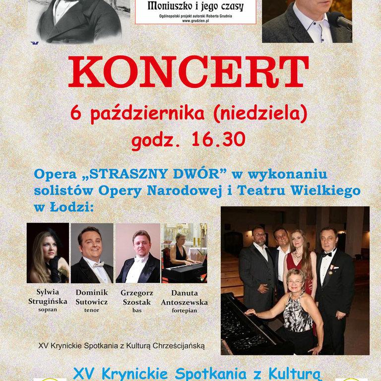 Moniuszko i jego czasy. Koncert w Kościele Zdrojowym.