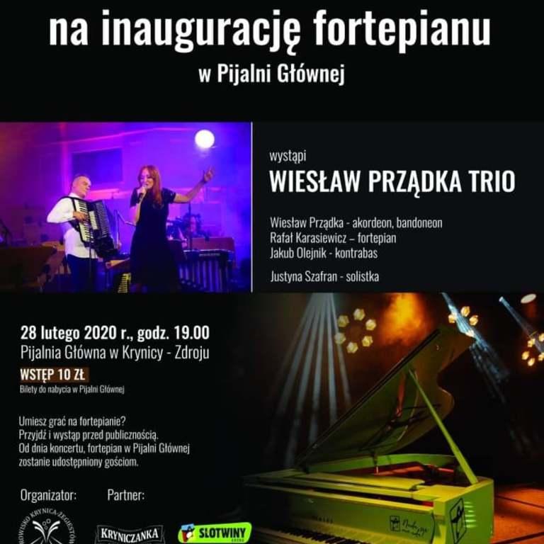 Dziś o 19:00 w Pijalni Głównej odbędzie się wyjątkowy koncert i premiera pierwszego na świecie zielonego fortepianu.