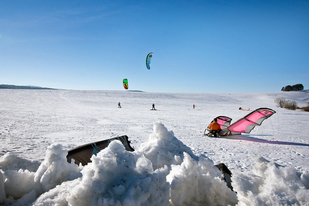 Snowkiting w Tyliczu photo
