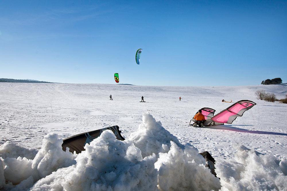 Snowkiting w Tyliczu photo