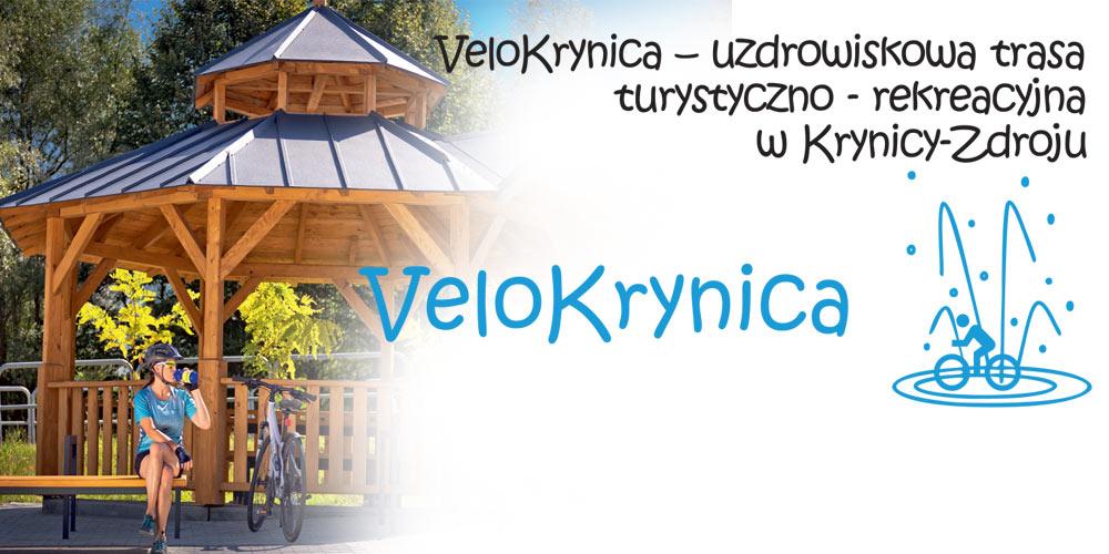 VeloKrynica - budowa uzdrowiskowej trasy turystyczno-rekreacyjnej w Krynicy-Zdroju photo