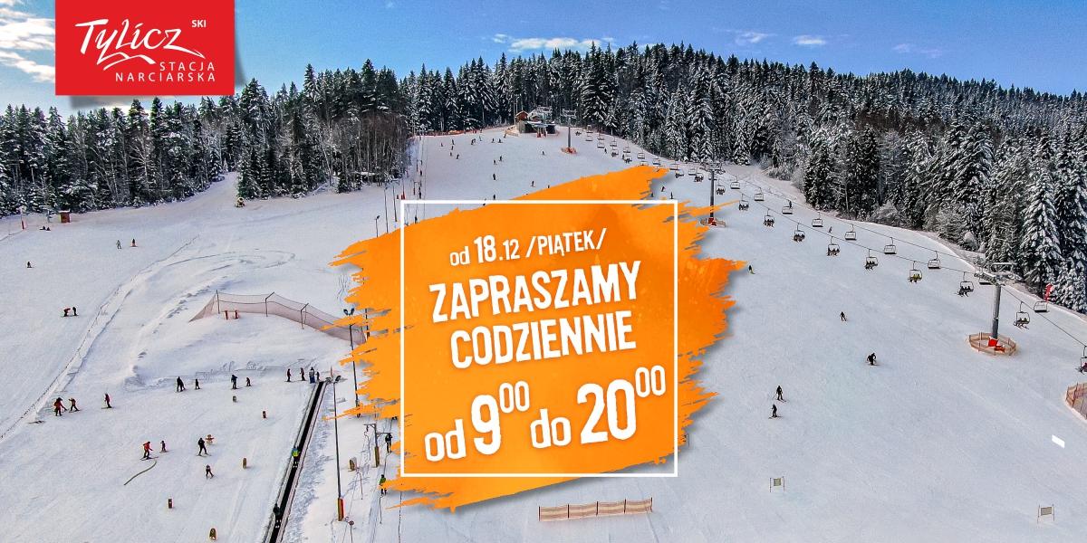 TYLICZ.ski działa codziennie od 9.00 do 20.00. photo