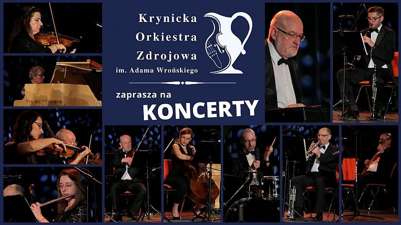 Zobacz - Koncerty Krynickiej Orkiestry Zdrojowej 2021 photo
