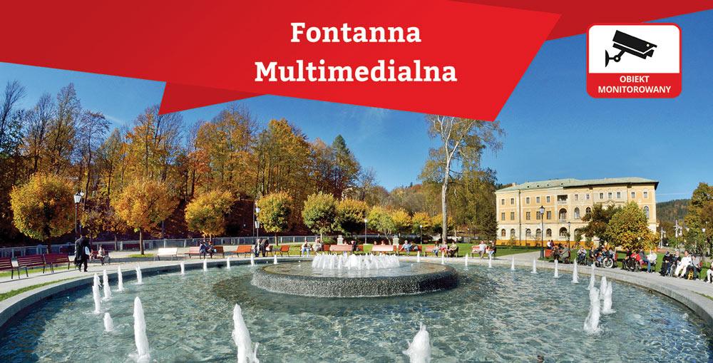 Ruszyły fontanny w Krynicy-Zdrój photo